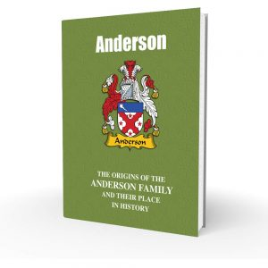 Anderson - English Surname