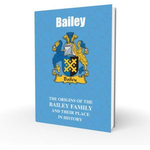 Bailey - English Surname