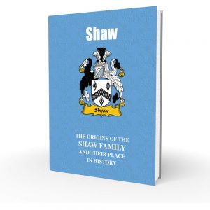 Shaw - English Surname
