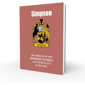 Simpson - English Surname