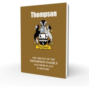 Thompson - English Surname